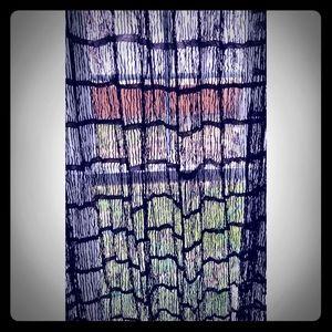 """2 Sexy Lace Like Panels (8' long x 56"""" wide)"""